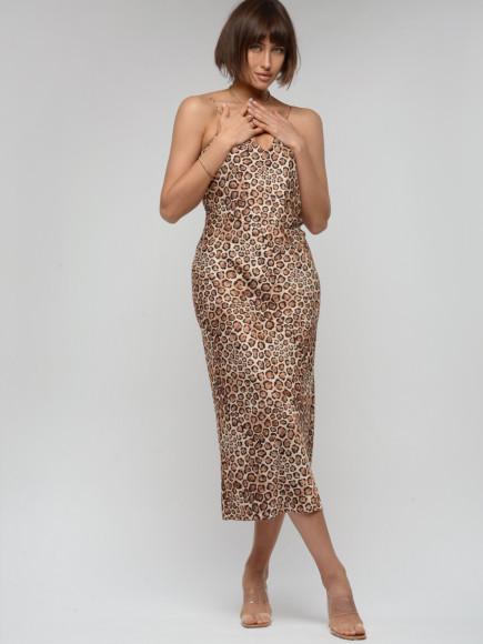 Платье из вискозы и полиэстера To Be Woman, 5900 руб.