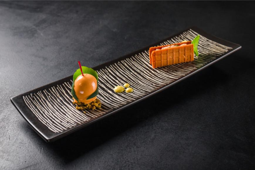 Блюдо из сета ресторана «Балкон»