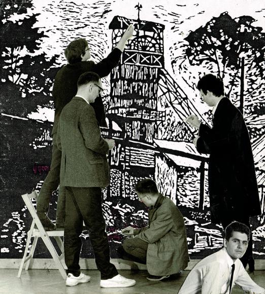 Работа словенского художественного коллектива Neue Slowenische Kunst