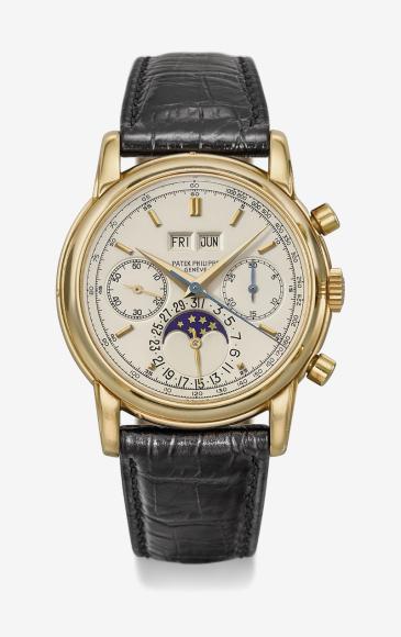 Часы Ref 2499/100J, Patek Philippe. Эстимейт 550–950 тысяч швейцарских франков, проданы за 672,5 тысячишвейцарских франков