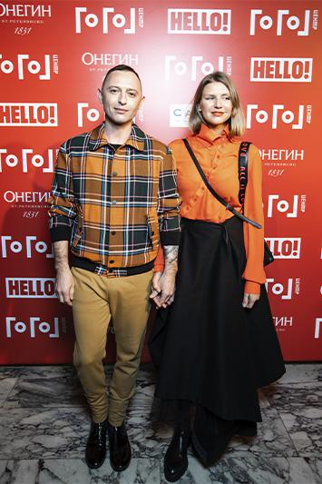 Роман Билык с супругой