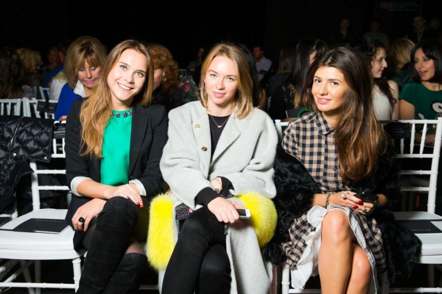 Анжелика Тиманина, синхронистка, Олимпийская чемпионка, и  Мария Михайлова, редактор светской хроники Vogue