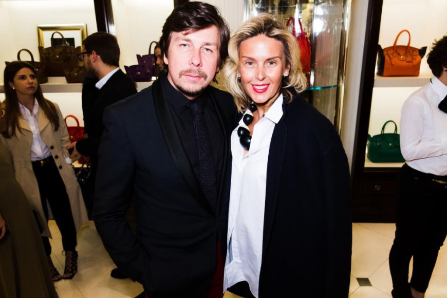 Андрей Фомин (основатель event-агентства Andrey Fomin Production) и Татьяна Рогаченко (владелец салонов Jean Louis David)
