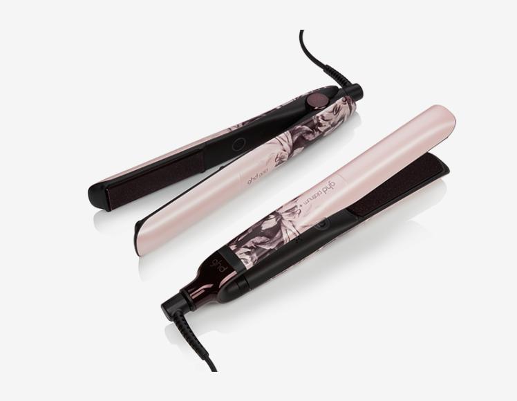 Стайлер для укладки волос ink on pink, ghd