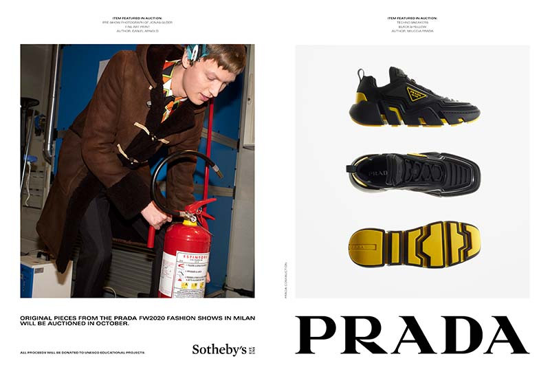 Рекламная кампания Prada Tools of Memory