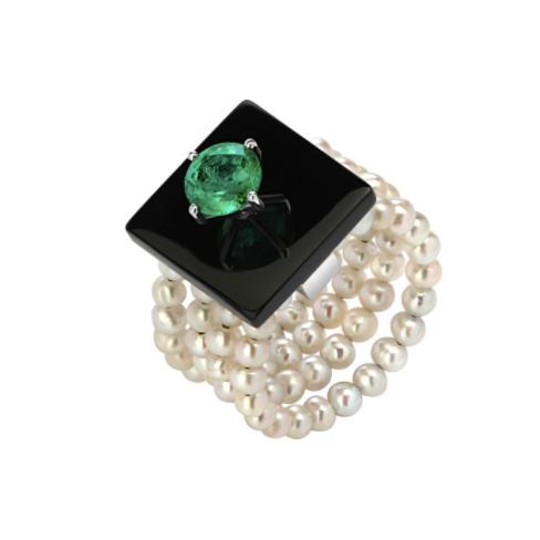 Кольцо Dark Deco, Dzhanelli Jewellery