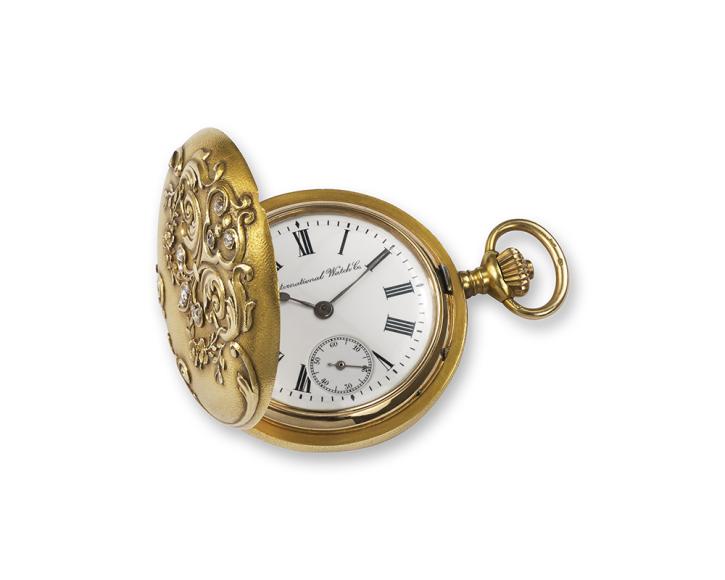 Женские карманные часы Savonette 1914