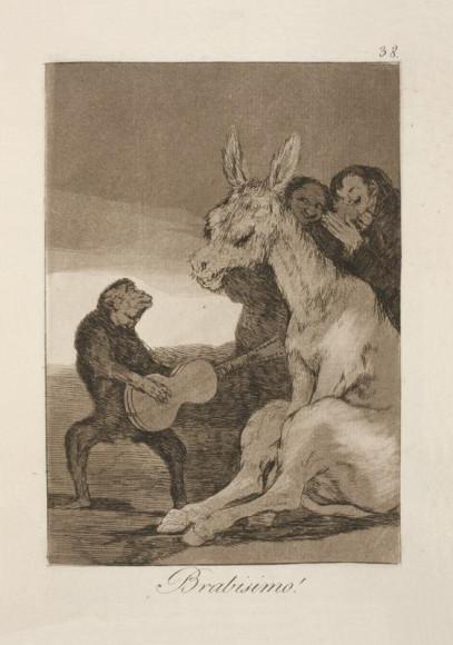 Франсиско Гойя. «Брависсимо!», 1799
