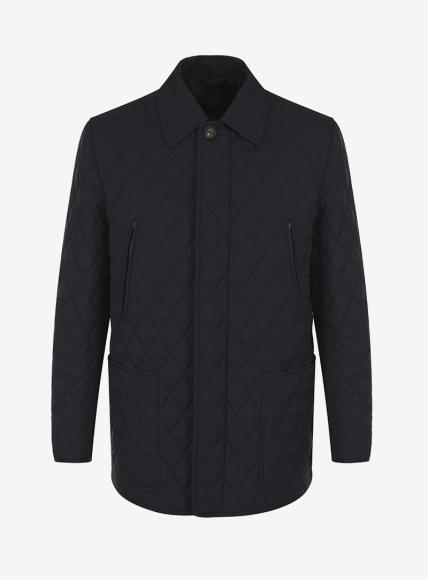Стеганая куртка с подкладкой из шерсти и кашемира