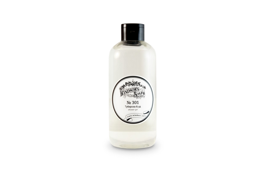 Гель для душаТубероза & уд,Windsor's Soap&Beauty