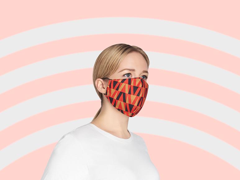 Коллекция многоразовых масок для лицаHeart of Moscow