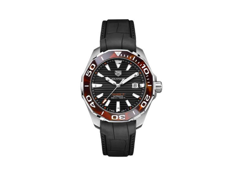 Часы Aquaracer 43 mm Tortoise Shell Effect, TAG Heuer