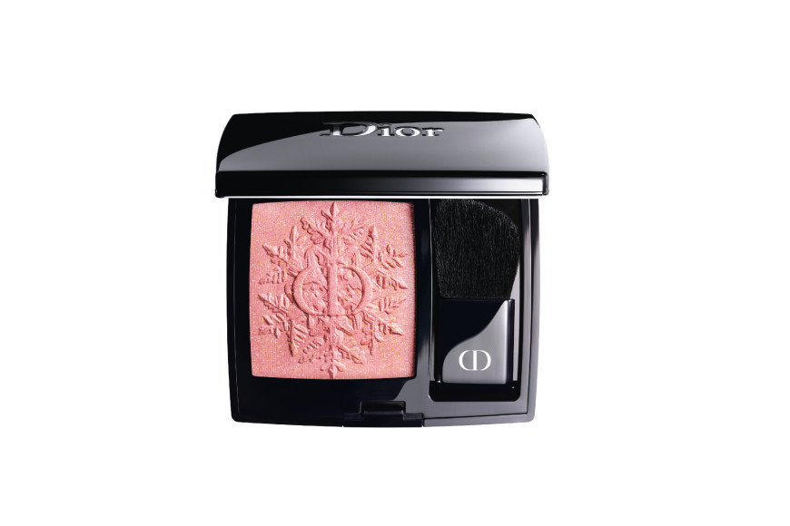Румяна Rouge Blush, оттенок 353 «Розовая дрожь», Golden Nights, Dior
