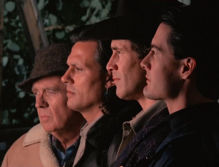 Кадр из фильма «Твин Пикс: Сквозь огонь»