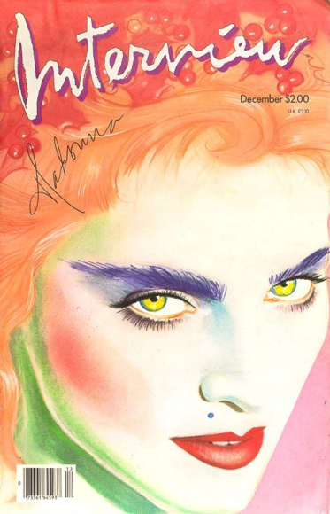Мадонна, обложка 1985 года