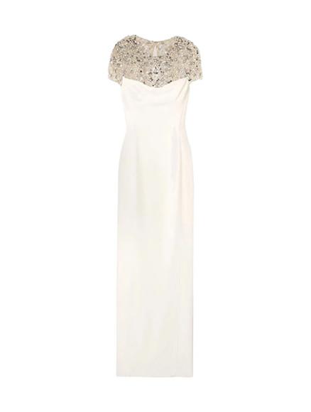 Платье Jenny Packham, 145 000 руб. (yoox.com)