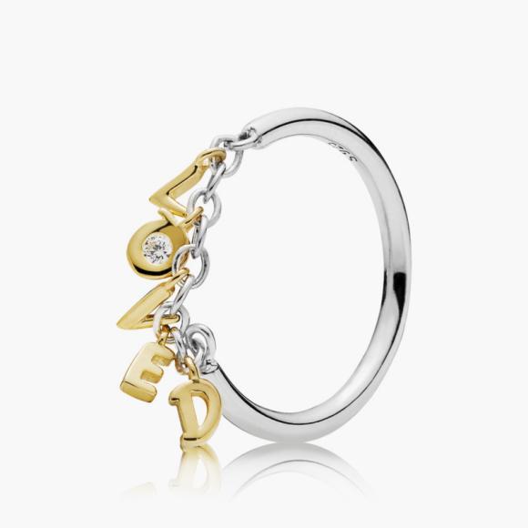 Кольцо «Слова любви», Pandora, 4990 руб.