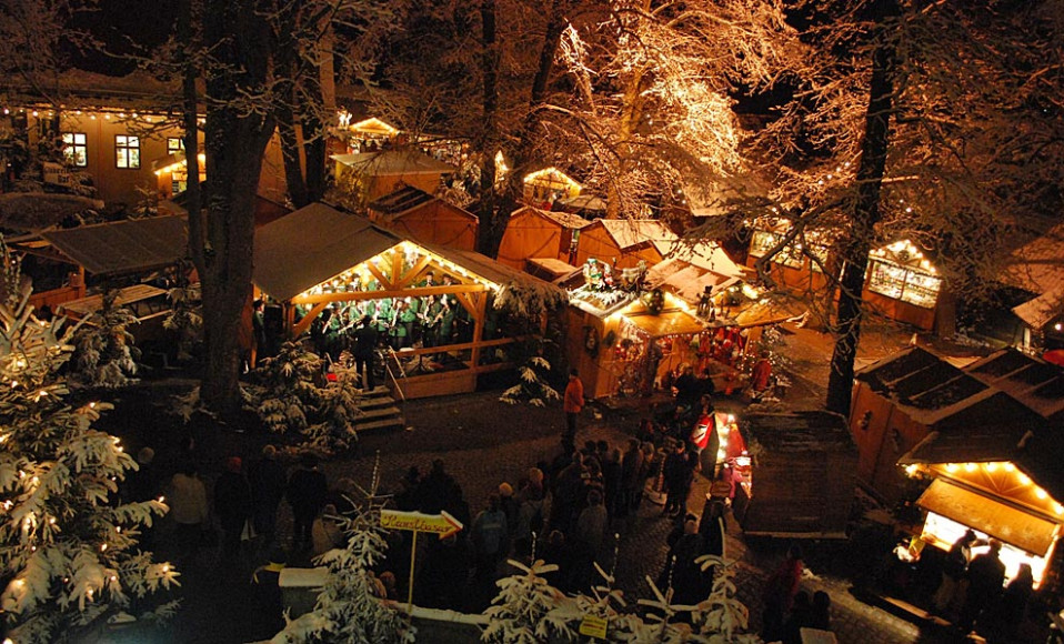 Рождественская ярмарка в Динкельсбюле