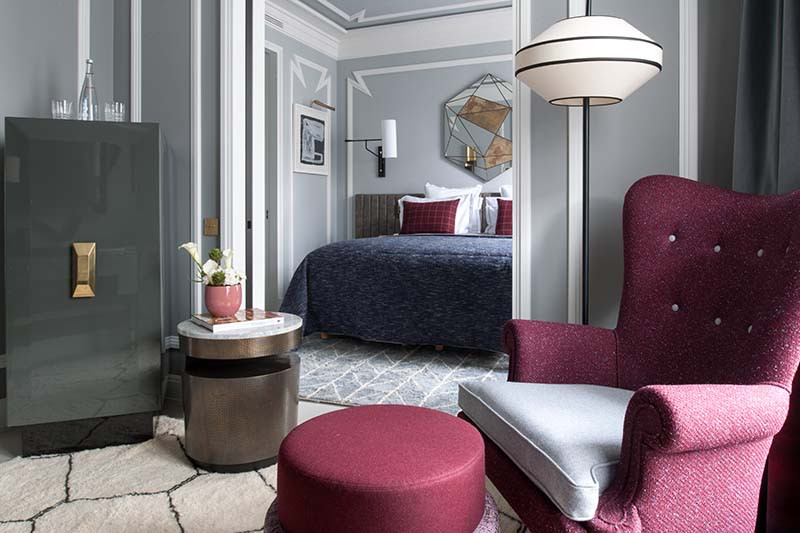 Номер Junior Suite, Nolinski Paris