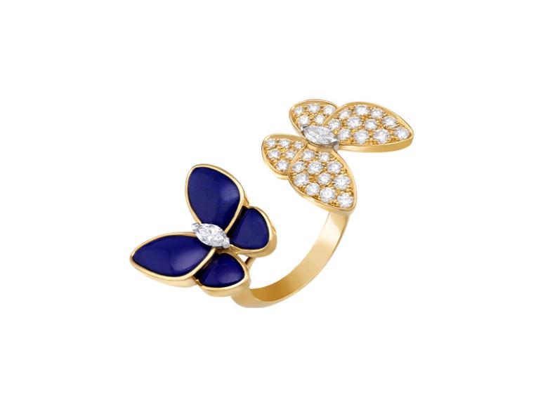 Кольцо Two Butterfly, Van Cleef & Arpels