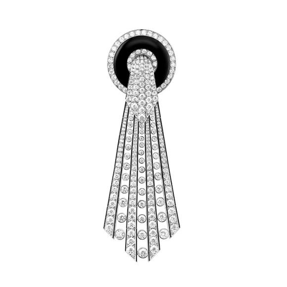 Съемная брошь от кольеLavalliere Diamants