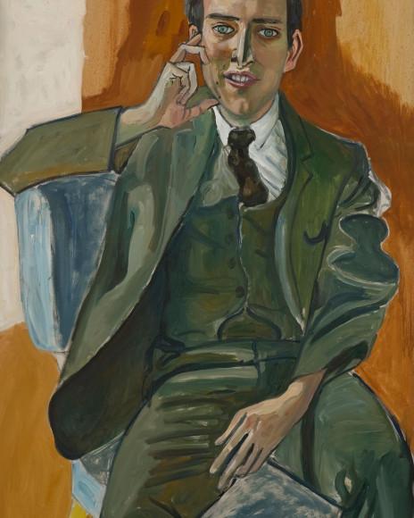 Элис Нил, Портрет Джерри Сокола, 1965