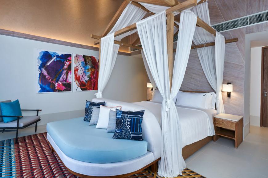 Спальня на виллеRock Star