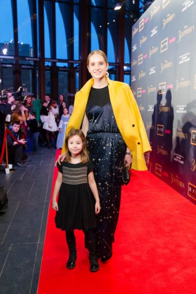 Мария Семеняченко (Солистка Большого театра) с дочерью