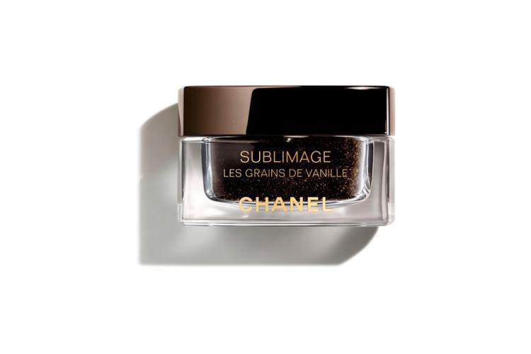 Мягкий скраб для лица Les Grains de Vanille, Sublimage, Chanel с семенами ванили планифолии и шариками жожоба