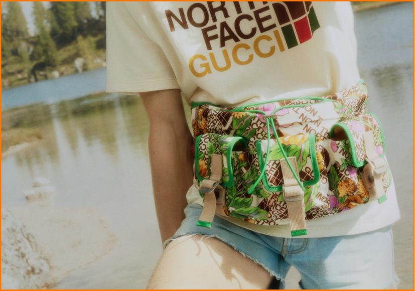 Коллаборация Gucci X The North Face
