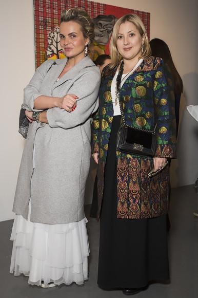 Анна Путилова и Вера Глазунова (Tres Russe)