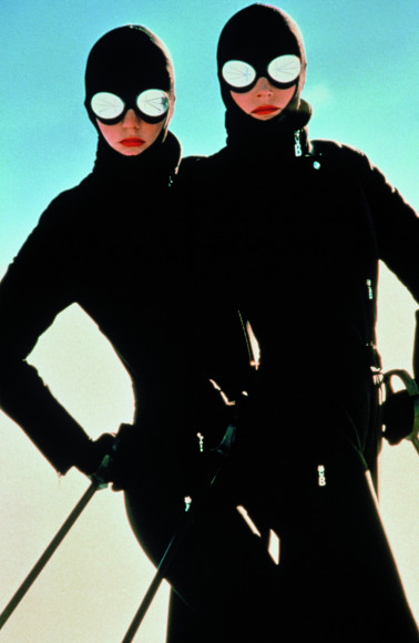 Модели в одежде Bogner, 1981 год