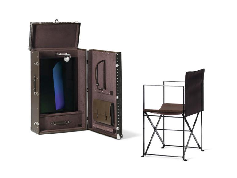 Сундук-гардероб, Louis Vuitton, созданный по эскизам Джеймса Таррела