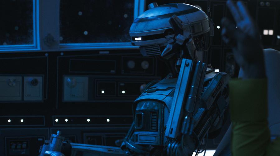 Кадр из фильма «Хан Соло: Звёздные Войны. Истории»