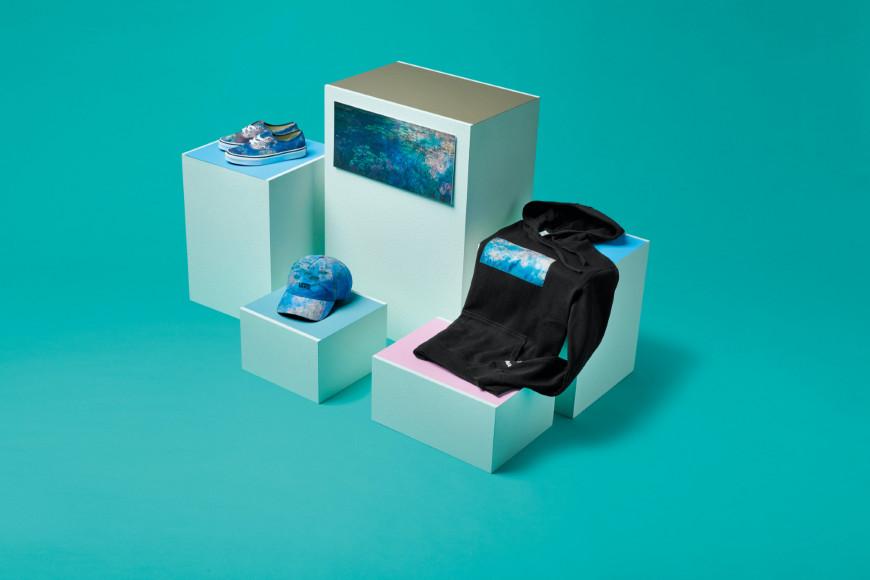 Вещи из совместной коллекции Vans X MoMA по мотивам работы из цикла«Кувшинки» Клода Моне