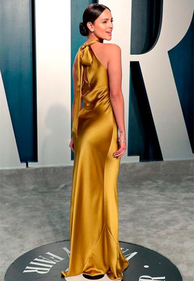 Эйса Гонсалес в платье Galvan на афтепати «Оскара»