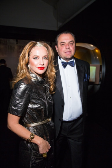 Олег Шелягов (АКБ МОСОБЛБАНК)  с супругой Викторией