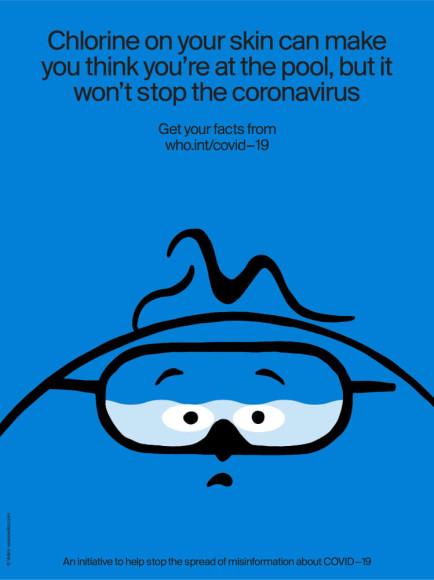 «Хлор создаст ощущение, будто вы были в бассейне, но не остановит коронавирус»