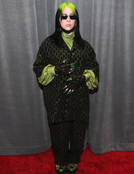 Билли Айлиш в Gucci на церемонии вручения премии «Грэмми»