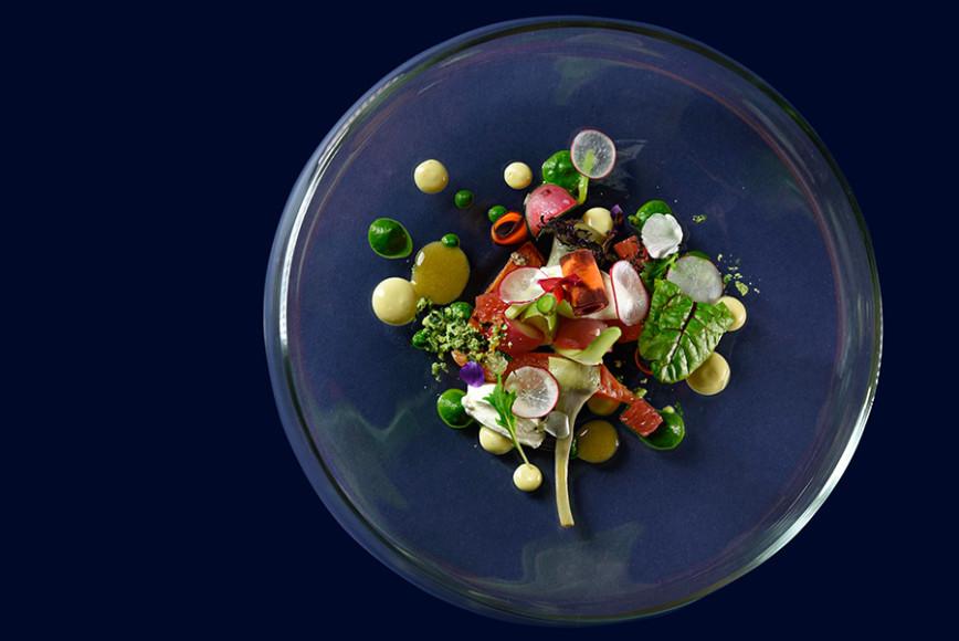 Блюдо от Anne-Sophie Taurines, Швейцария
