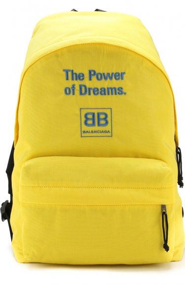 BALENCIAGA Текстильный рюкзак