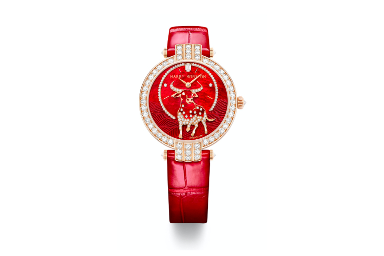 Часы Premier Chinese New Year Ox Automatic 36mm, Harry Winston