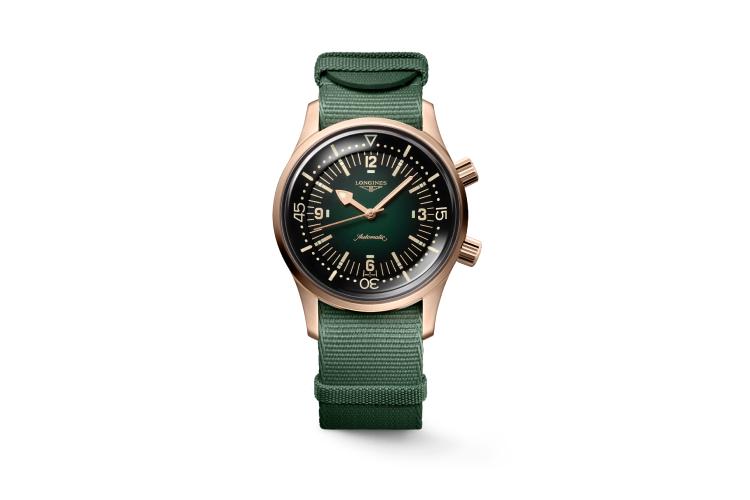 Часы Legend Diver Bronze, Longines