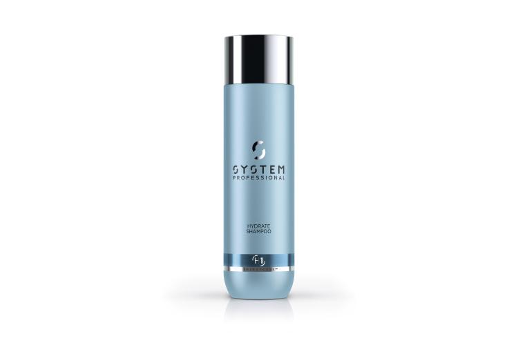 Увлажняющий шампунь для нормальных и сухих волос Hydrate H1, System Professional