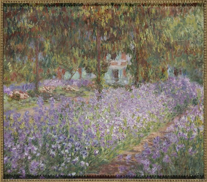 Клод Моне. «Сад художника в Живерни», 1900