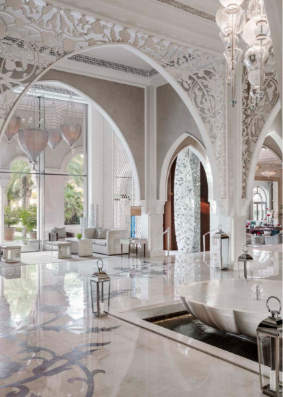 Лобби отеля One&Only The Palm (Дубай)