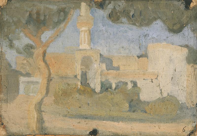 Ivan Aguéli, Moské I, 1914