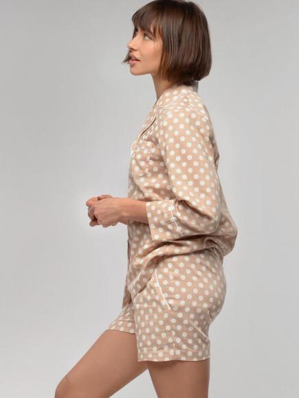Хлопковая пижама To Be Woman, 4500 руб.