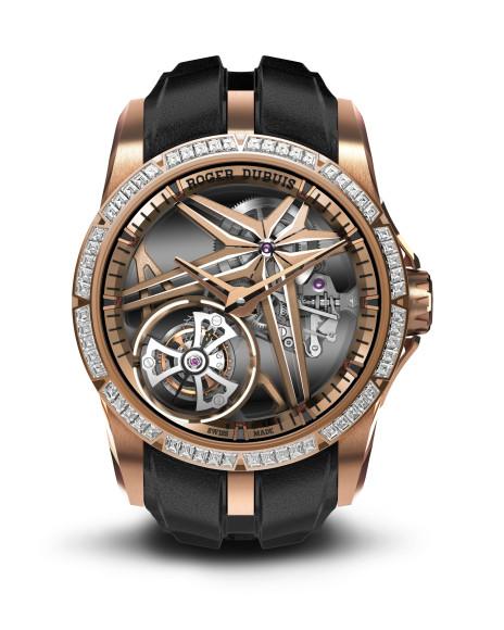 Часы Excalibur Single Flying Tourbillon Glow Me Up, Roger Dubuis