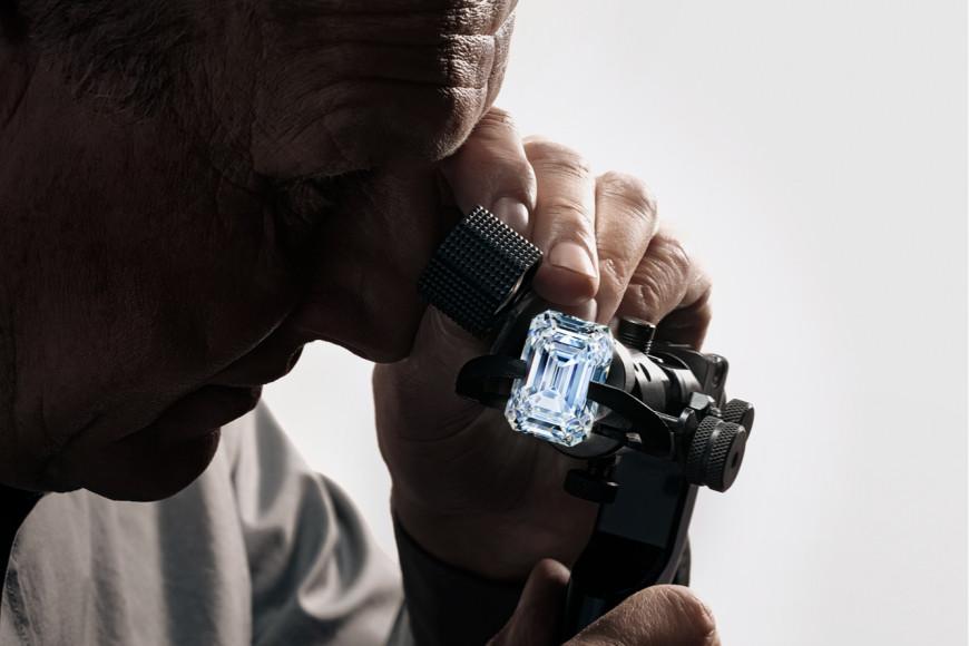 Процесс огранки бриллианта The Alrosa Spectacle